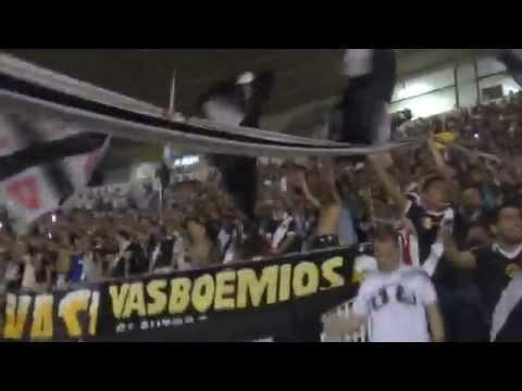 """""""""""Mulambo me diz como se sente"""" - VASCO x Paraná 02/08/2014"""" Barra: Guerreiros do Almirante • Club: Vasco da Gama"""
