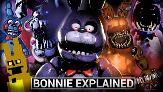 FNAF Animatronics Explained - BONNIE (Five Nights At Freddys Facts)