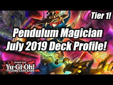 Yu-Gi-Oh! July 2019 Pendulum Magician Deck Profile! (Tier 1!)