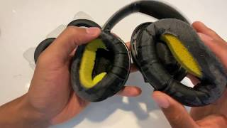 Bose Quiet Comfort 35 ii - Replacing Ear Pads