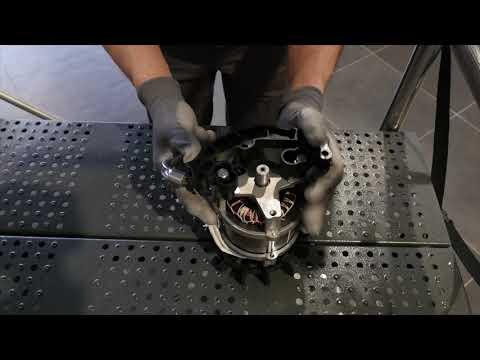TUTO : comment remplacer le moteur sur votre bétonnière Haemmerlin ?