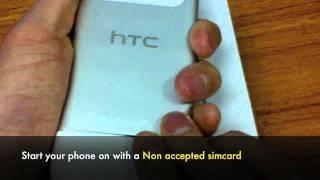 UNLOCK HTC RADAR - How to Unlock T-Mobile HTC Radar Windows Phone by Unlocking Code