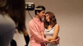 Behind the Scenes Look at KathNiel's Movie Pictorial