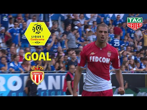 Goal Islam SLIMANI (40′) / RC Strasbourg Alsace – AS Monaco (2-2) (RCSA-ASM) / 2019-20