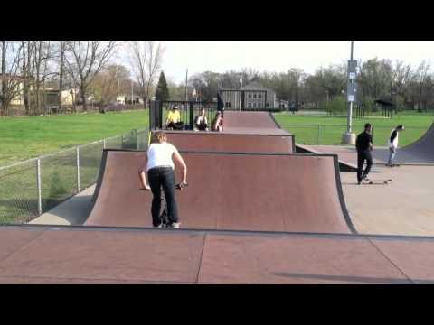 Michigan City Skatepark Simple Session