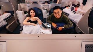 二十小时的空中之旅,回中国