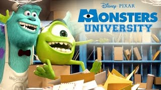 Furry Monsters | Monsters U | Disney Pixar