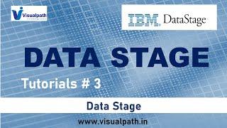 DataStage Tutorials #3 - DataStage Tool Navigation