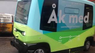 Gambar cover sürücüsüz otobüs çekimi