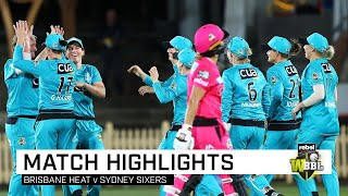 Brisbane turn up the Heat to thrash Sixers | Rebel WBBL|05