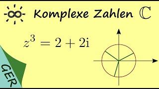 Komplexe Zahlen, Beispiel z aus Gleichung raus berechnen   Mathe by ...