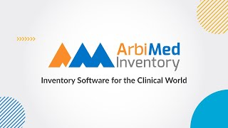ArbiMed Inventory video