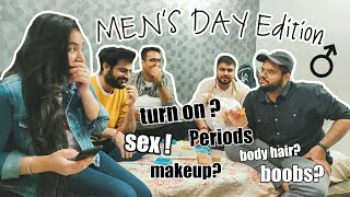 Guys Answer Questions Girls Are Too Afraid To Ask | Sex, Periods, Money & much more !!