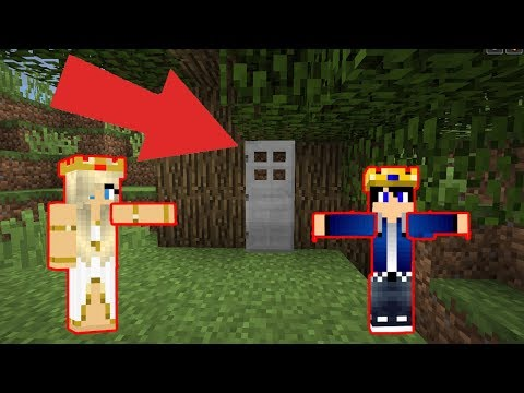 ZENGİN KRAL ŞATONUN GİRİŞİNDE  Minecraft Yeni