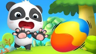 Baby Panda Saves Baby Egg   Kids Cartoon   Funny Cartoon for Kids   Panda Cartoon   BabyBus
