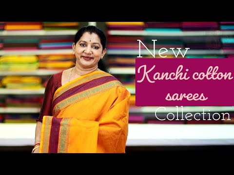 """<p style=""""color: red"""">Video : </p>EXCLUSIVE KANCHI COTTON SAREES COLLECTION"""