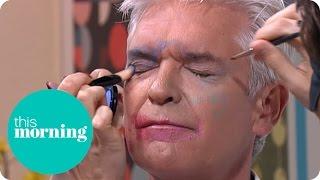 Alfie Deyes Gives Phillip A Makeover - Blindfolded! | This Morning