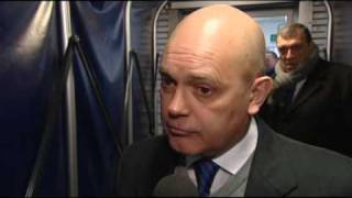 Ray Wilkins Post Match Preston