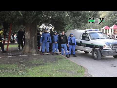 Una chica de 18 años se ahorco en plaza San Martin