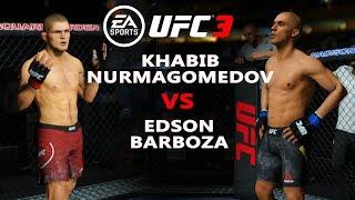 UFC 3 KHABIB NURMAGOMEDOV vs EDSON BARBOZA