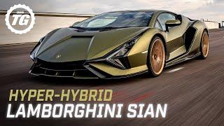 Chris Harris vs the Lamborghini Sián: an 807bhp, 217mph, V12 hybrid | Top Gear: Series 30