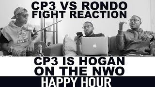 Happy Hour: Lakers Rockets Fight Reaction | CP3 is Hogan on the NWO | Hoops N Brews