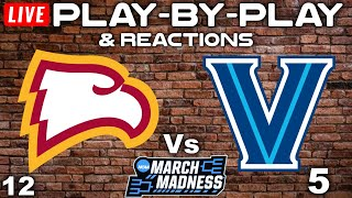 Winthrop Eagles vs Villanova Wildcats   Live Play-By-Play & Reactions