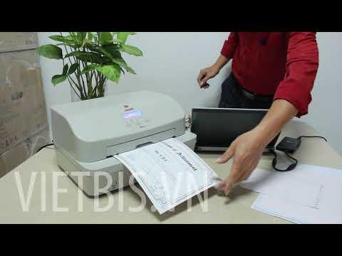 Trải nghiệm máy in bằng, in hóa đơn, in sổ Olivetti PR2