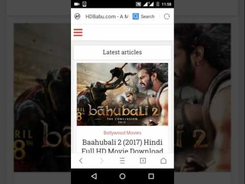 Download Baahubali 2: The Conclusion 2017 Hindi Full Movie Download Links HD Mp4 3GP Video and MP3