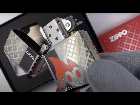49272 Зажигалка Zippo 600 Millionth Limited Collectible, Polish Chrome