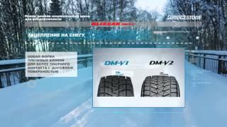 Bridgestone Blizzak DM-V2 презентация от производителя