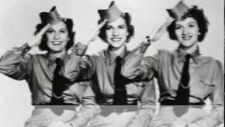The Andrew Sisters - Beer Barrel Polka