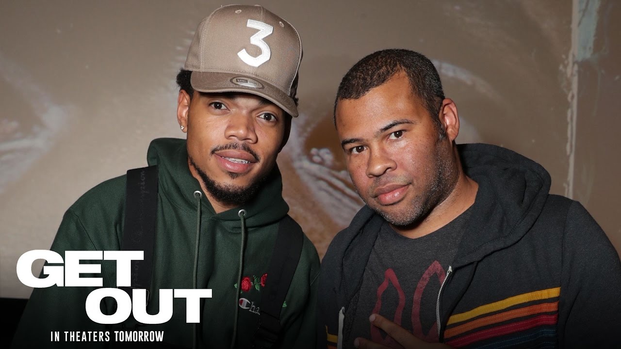 >Get Out - In Theaters Friday - Chance the Rapper Special Screening