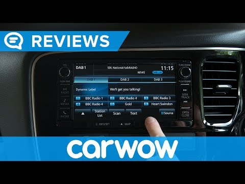 Mitsubishi Outlander PHEV 2018 Interior and Infotainment review | Mat Watson Reviews
