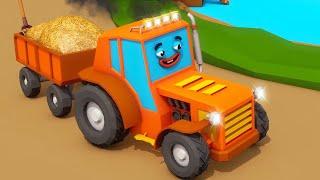 Tractor TOM und Freunde Neue Folgen! Wie Autos zur Reparatur gingen? Bauen für Kinder