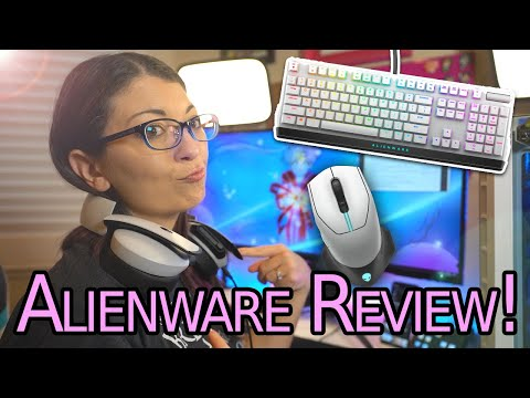 External Review Video xnIb7RkaSHE for Dell Alienware Gaming Mice AW610M, AW510M, AW310M