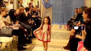 "София на показе проект ""Весна. Красота. Мода -2016"""