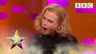 Meryl Streep And Nicole Kidman Reveal Their REAL Birth Names   The Graham Norton Show | BBC