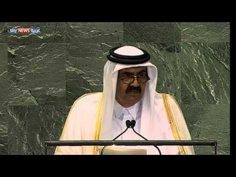 قطر تدعو لتدخل عسكري عربي بسوريا