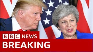 trump may full statement in full bbc news