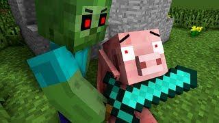 Zombie Life  Wolf Life  Pig Life   Minecraft Animation