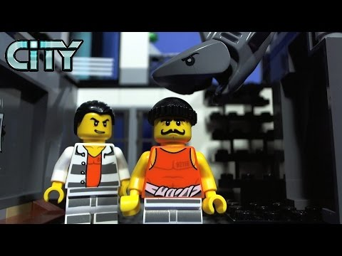 Vidéo LEGO City 60130 : La prison en haute mer