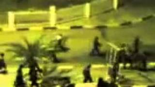 preview picture of video 'Declaration curfews in Mualla 26-02-2011 Aden المعلا عدن'