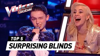 SURPRISING Blind Auditions in The Voice Kids [Part 4]