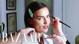 Supermodel Irina Shayk Shares Her Beauty Secrets   Get Ready With   Harpers BAZAAR