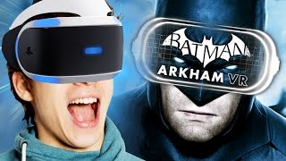 ESSERE BATMAN IN REALTÀ VIRTUALE! - Batman: Arkham VR