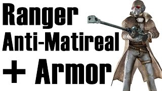Fallout New Vegas: How to get NCR Veteran Ranger armor without NCR infamy and Anti Material Rifle