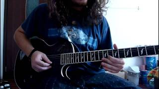 Arch Enemy - I will live again (guitar cover)