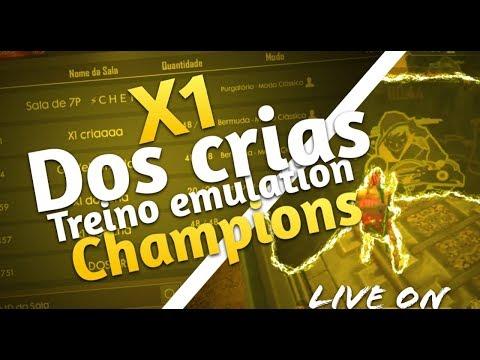 ⚡FREE FIRE AO VIVO - X1 DOS CRIAS #50LIKES 🔴⚡LIVE ON⚡🔴REGRAS NA  Descrição}
