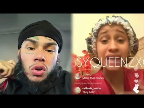 6IX9INE D!sses Cardi B & Calls Her Out For 💊 & R0bb!ng Men!?